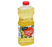Signature SELECT Oil Canola & Vegetable Pure Blended - 48 Fl. Oz.