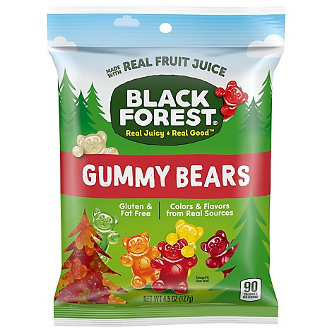 Black Forest Gummy Bears - 4.5 Oz
