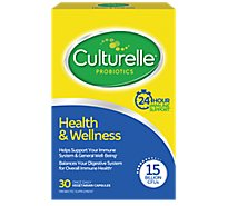 Culturelle Pro-well Probiotic Supplement Health & Wellness Vegetarian Capsules - 30 Count
