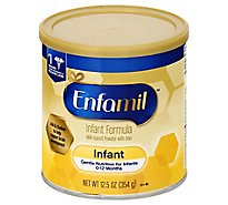 Enfamil Premium Infant Formula Milk-Based Powder With Iron Through 12 Months - 12.5 Oz