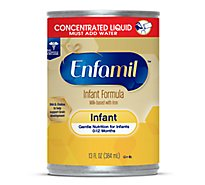 Enfamil Infant Formula Milk Based Concentrated Liquid with Iron - 13 Fl. Oz.