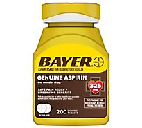Bayer Aspirin Tablets 325mg Coated - 200 Count