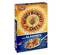 Honey Bunches of Oats Cereal With Crispy Almonds - 18 Oz