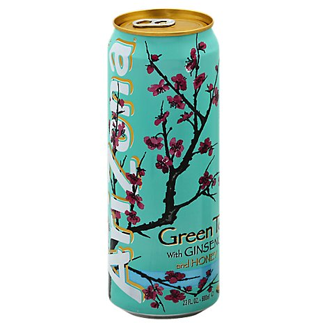 AriZona Green Tea with Ginseng and Honey - 23 Fl. Oz.
