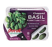 Dorot Gardens Basil Chopped Cubes 16 Count - 2.5 Oz