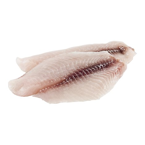 Seafood Counter Fish Catfish Fillet Garlic Butter Fresh Service Case - 1.00 LB