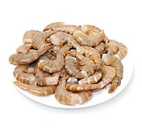 Seafood Counter Shrimp Raw Previously Frozen Extra Jumbo 16 To 20 Count - 1 Lb
