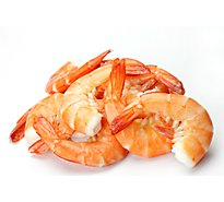 Seafood Service Counter Shrimp Cooked 31-40 Count Large Tail On - 1.00 LB