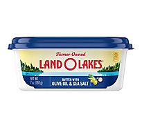 Land O Lakes Butter with Olive Oil & Sea Salt - 7 Oz