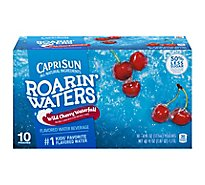 Capri Sun Roarin Waters Flavored Water Beverage Wild Cherry - 10-6 Fl. Oz.