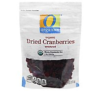O Organics Organic Cranberries Dried - 4 Oz