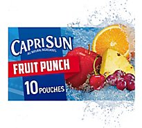 Capri Sun Juice Drink Blend Fruit Punch - 10-6 Fl. Oz.