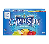 Capri Sun Juice Drink Blend Mixed Fruit Splash Cooler - 10-6 Fl. Oz.