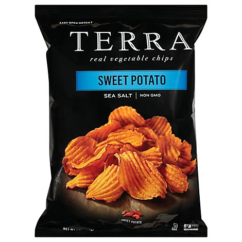 TERRA Vegetable Chips Sweet Potato Sea Salt - 6 Oz