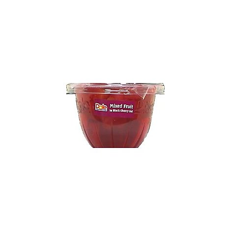Dole Mixed Fruit in Black Cherry Gel Cup - 7 Oz