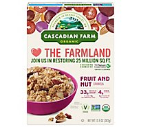 Cascadian Farm Organic Granola Fruit and Nut - 13.5 Oz