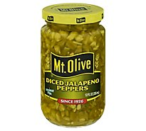 Mt. Olive Jalapeno Peppers Diced - 12 Fl. Oz.