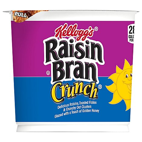 Raisin Bran Crunch Breakfast Cereal in a Cup Original Single Serve - 2.8 Oz