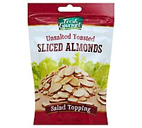 Fresh Gourmet Nut & Fruit Toppings Toasted Sliced Almonds - 3.5 Oz