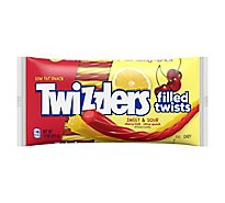 Twizzlers Candy Twists Filled Sweet & Sour Tangy - 11 Oz