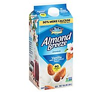 Blue Diamond Almonds Almond Breeze Milk Vanilla - 64 Fl. Oz.
