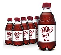 Diet Dr Pepper Soda - 8-12 Fl. Oz.