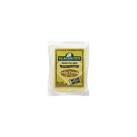 Valbreso Sheep Cheese Feta Plain - 7 Oz