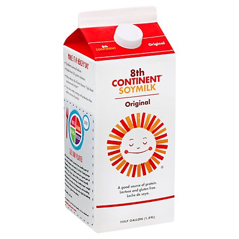 8th Continent Soy Milk Original - 64 Fl. Oz.