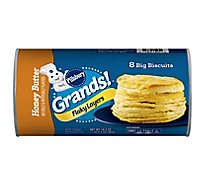 Pillsbury Grands! Biscuits Flaky Layers Honey Butter 8 Count - 16.3 Oz