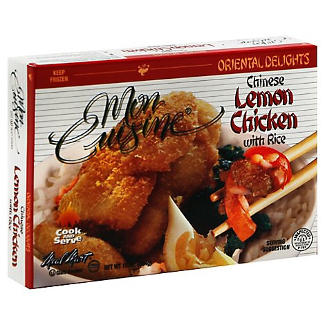 Mon Cuisine Chinese Lemon Chicken - 10 Oz