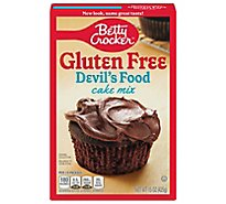 Betty Crocker Cake Mix Gluten Free Devils Food - 15 Oz