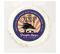 Cypress Grove Chevre Goat Cheese Purple Haze Disk - 4 Oz