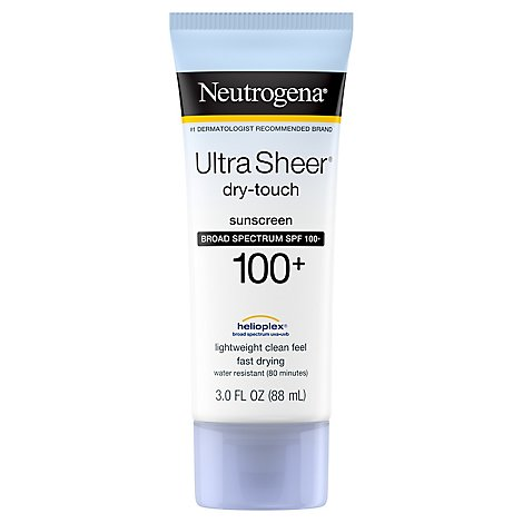 Neutrogena Ultra Sheer Sunblock Lotion SPF 100 - Each