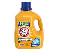 ARM & HAMMER Liquid Detergent Clean Burst Powerfully Clean Naturally Fresh Jug - 150 Fl. Oz.