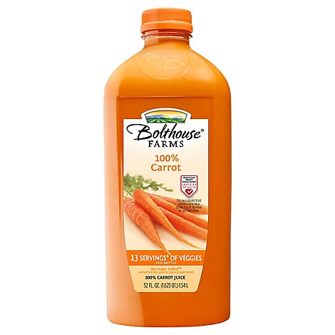 Bolthouse Farms 100% Juice Carrot - 52 Fl. Oz.