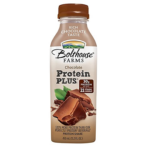 Bolthouse Farms Protein Plus Protein Shake Chocolate - 15.2 Fl. Oz.