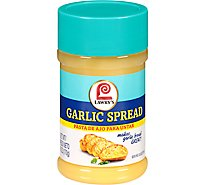 Lawrys Spread Garlic - 6 Oz