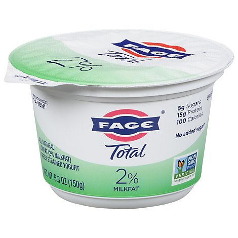 Fage Total 2% Yogurt Greek Lowfat Strained - 7 Oz
