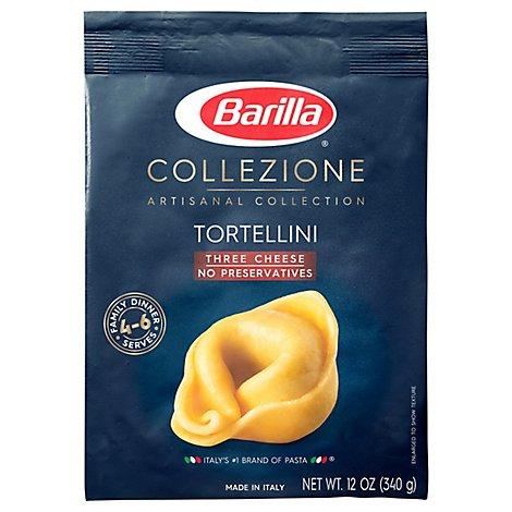 Barilla Collezione Pasta Artisanal Collection Tortellini Three Cheese Box - 12 Oz