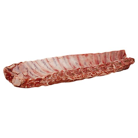 Meat Counter Pork Loin Back Ribs Extra Meaty Tray - 2.50 LB