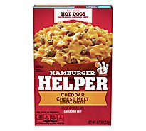 Betty Crocker Hamburger Helper Cheddar Cheese Melt Box - 4.7 Oz