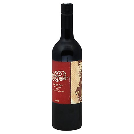 Mollydooker Red Two Left Feet Wine - 750 Ml