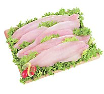 Seafood Counter Fish Cod Alaskan Fillet Previously Frozen Service Case - 1.00 LB
