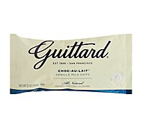 Guittard Baking Chips Vanilla Milk Choc-Au-Lait - 12 Oz