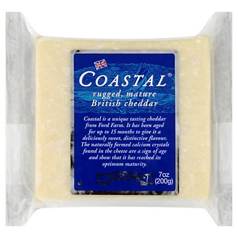 Ford Farm Cheese Coastal Cheddar - 7 Oz