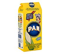 Goya P.A.N. Corn Meal Pre-Cooked White Bag - 35 Oz