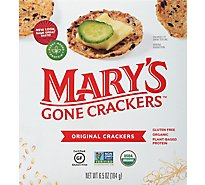 Marys Gone Crackers Organic Original Crackers - 6.5 Oz