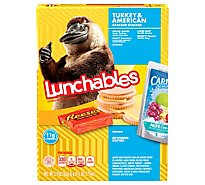 Lunchables Lunch Combinations Turkey & American Cracker Stackers - 8.9 Oz