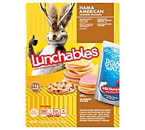 Lunchables Lunch Combinations Ham & American Cracker Stackers - 9.1 Oz