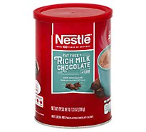Nestle Cocoa Mix Hot Rich Milk Chocolate Flavor Fat Free - 7.33 Oz